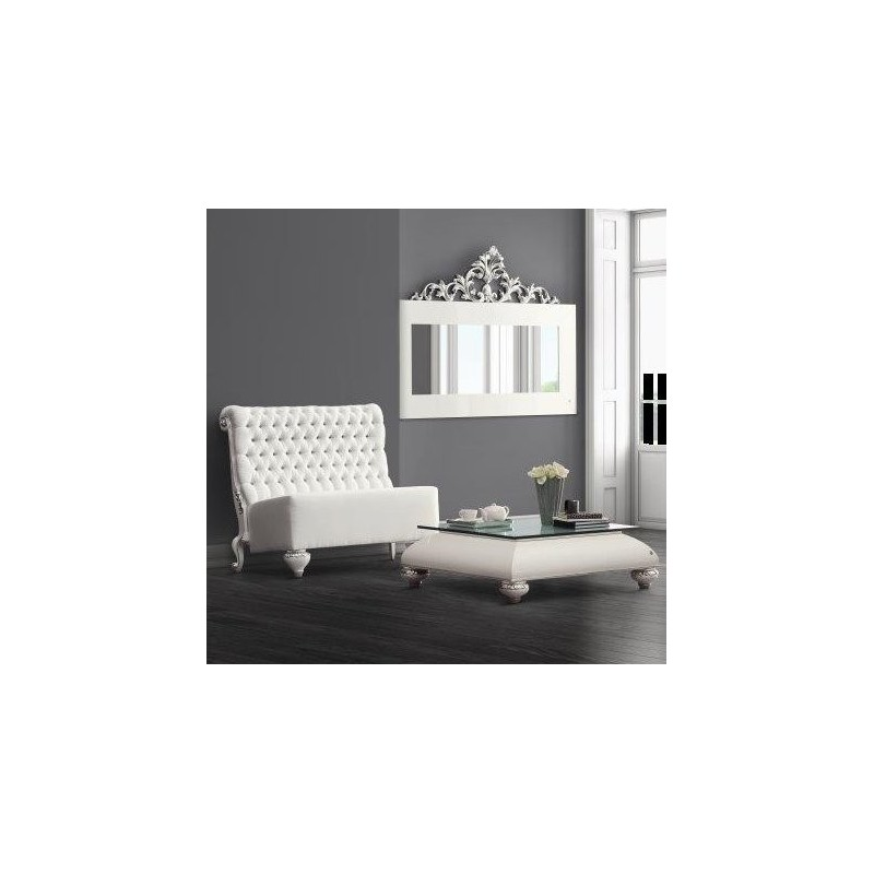 canap de luxe tissu capitonn blanc de luxe milan. Black Bedroom Furniture Sets. Home Design Ideas