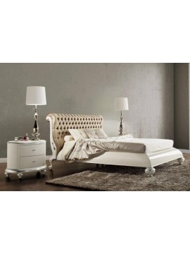 lit baroque et t te de lit de luxe capitonn e 2 personnes milan. Black Bedroom Furniture Sets. Home Design Ideas