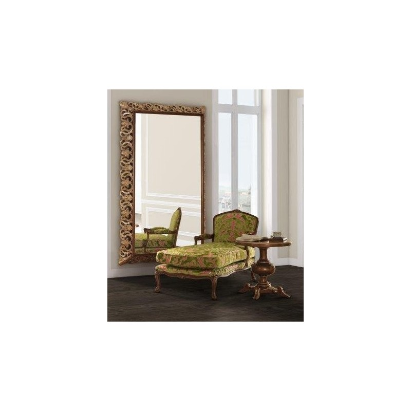 chaise longue de salon de luxe tissu vintage vert barriga. Black Bedroom Furniture Sets. Home Design Ideas