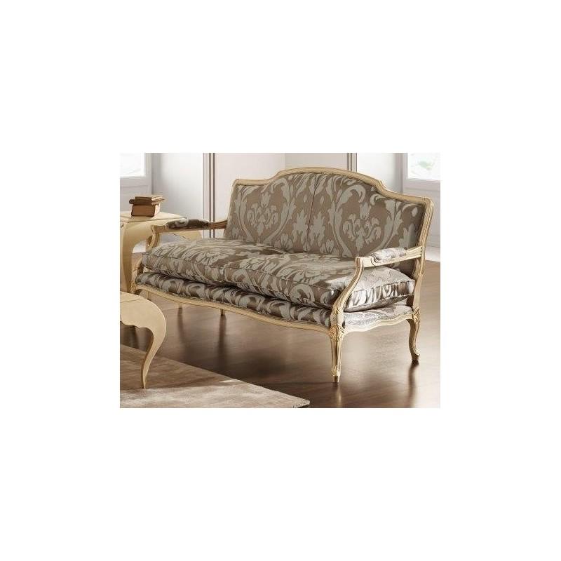 canap de luxe vintage tissu marron de luxe