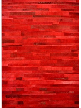 Tapis Expression rouge