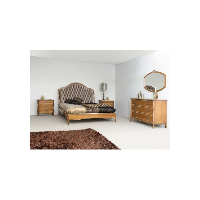 Chevet chambre adulte maison design for Lit et commode adulte
