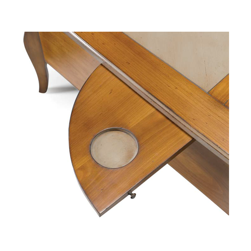 table basse rustique carr e ou rectangulaire austrina. Black Bedroom Furniture Sets. Home Design Ideas
