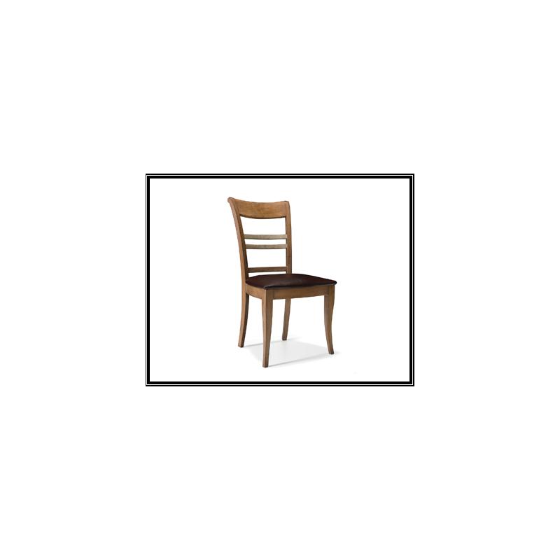 Chaise rustique tissu durandii for Chaise quercus