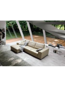 Canapé avec chaise longue Hanford