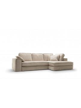 Canapé avec chaise longue Stockton