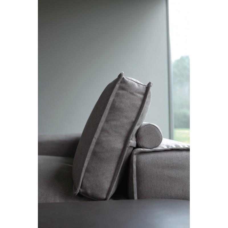 Le canap d 39 angle italien stockton cuir ou tissu - Canape italien tissu ...
