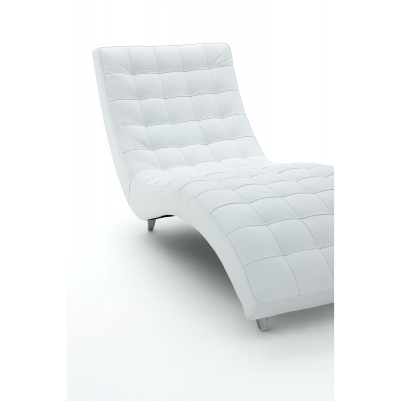 Chaise longue de salon italienne cuir santa clarita - Chaise longue de salon ...