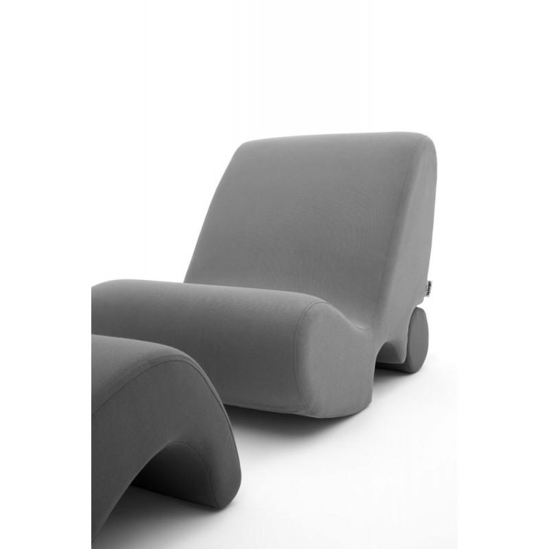 Fauteuil italien modulable avec repose pieds relaxation garantie - Fauteuil cuir design italien ...