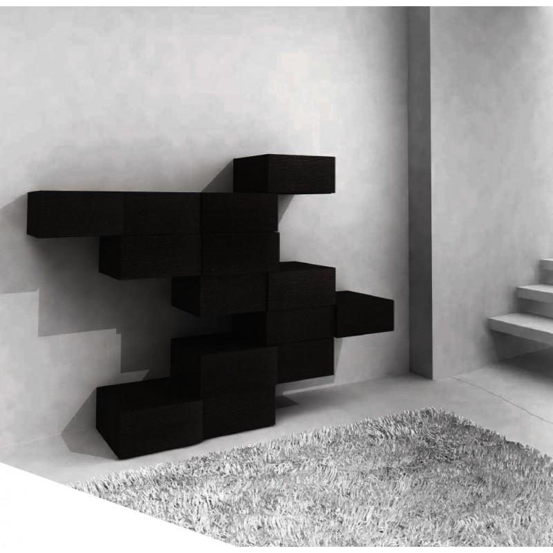 console design noire jump. Black Bedroom Furniture Sets. Home Design Ideas