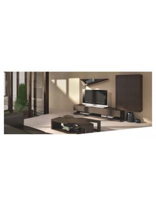 meuble tv design avec clairage led luz shah table basse et biblioth que. Black Bedroom Furniture Sets. Home Design Ideas