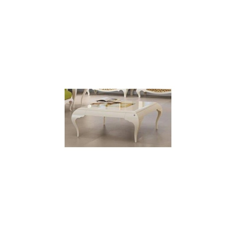 Table basse de luxe carr e ou rectangulaire eiffel - Table carree ou rectangulaire ...