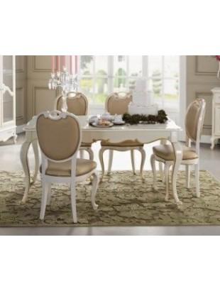 table de s jour de luxe rectangulaire ou ronde avec ou. Black Bedroom Furniture Sets. Home Design Ideas