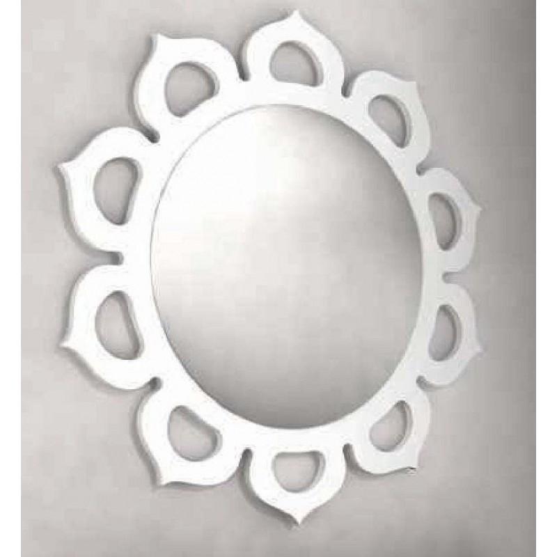Miroir design en forme de soleil sol for Miroir design soleil
