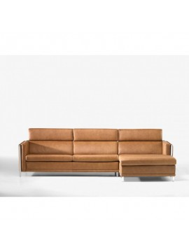 Canapé avec chaise longue Angra