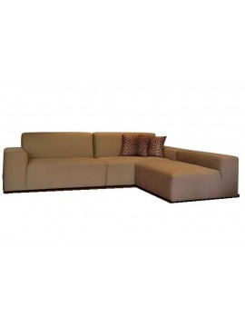 Canapé avec chaise longue Hamburgo