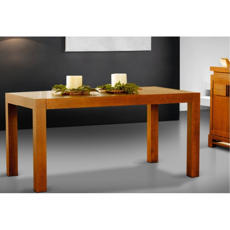 table de s jour antiquaire rectangulaire avec rallonge nagano. Black Bedroom Furniture Sets. Home Design Ideas