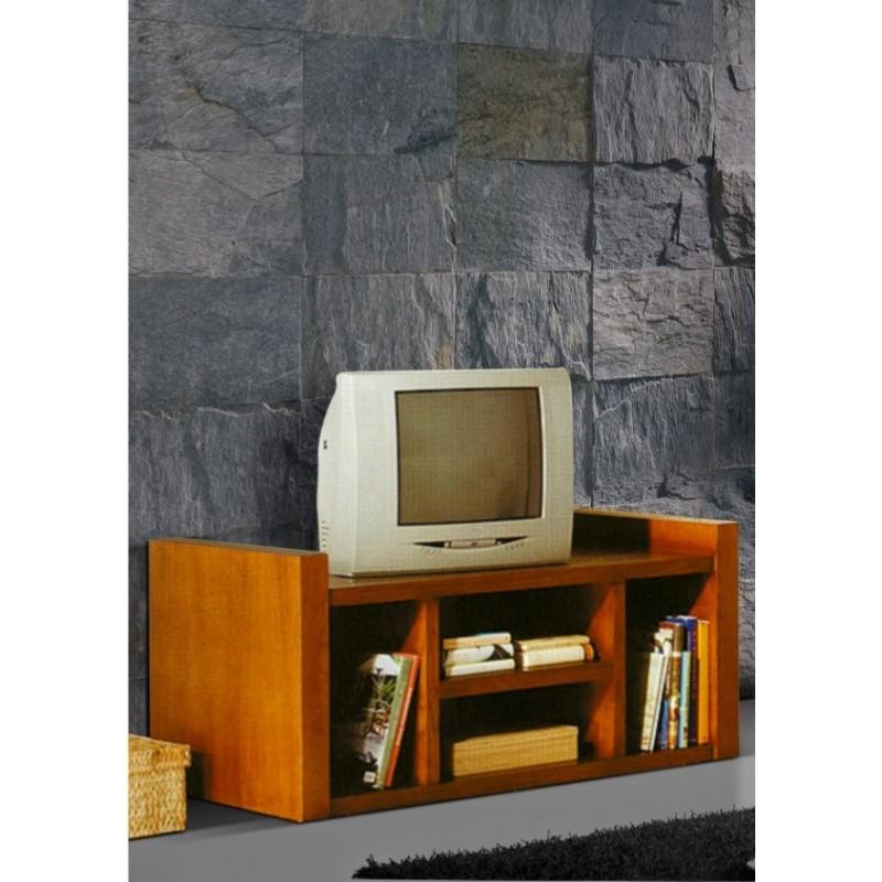 meuble tv antiquaire 4 niches. Black Bedroom Furniture Sets. Home Design Ideas