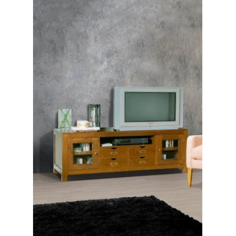 Meuble tv antiquaire 4 tiroirs m kong for Antiquaire lille meuble