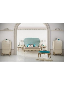 Chambre adulte Or bleue 1900