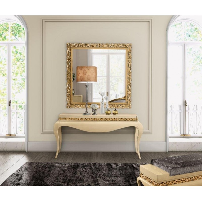 console meuble et miroir. Black Bedroom Furniture Sets. Home Design Ideas