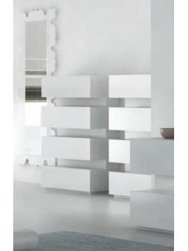 Commode design Luz (tiroirs verticaux)