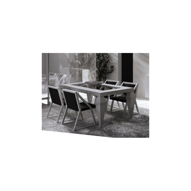 Table de s jour design rectangulaire impetu for Table sejour design