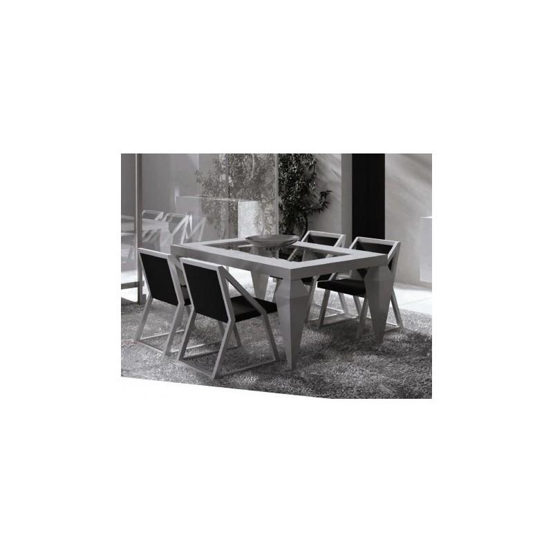 Table de s jour design rectangulaire impetu Table sejour design