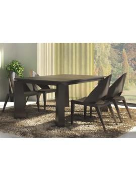 Table de séjour et fauteuils Design Luza
