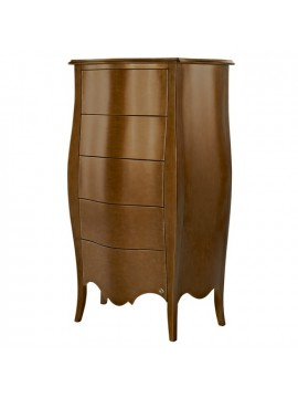chiffonnier baroque or commode 5 tiroirs de luxe barriga milan. Black Bedroom Furniture Sets. Home Design Ideas