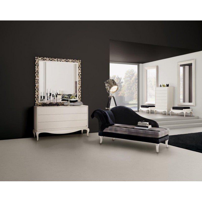 commode baroque de luxe 3 ou 7 tiroirs et chaise longue. Black Bedroom Furniture Sets. Home Design Ideas