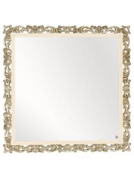 Miroir Feuilles d'argent Luxe