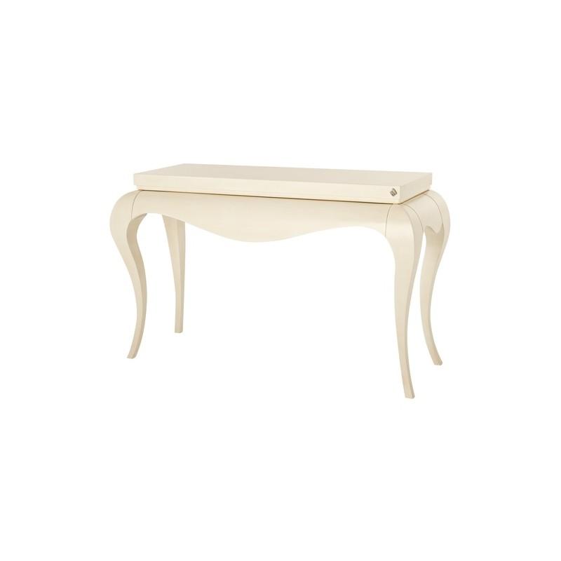 console baroque de luxe ivoire et miroir meuble d 39 entr e. Black Bedroom Furniture Sets. Home Design Ideas
