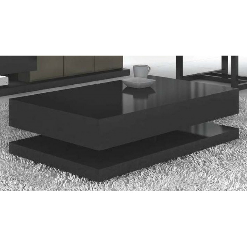 Table basse design rectangulaire Luz