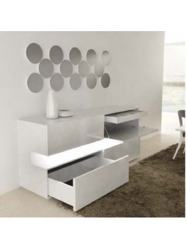 Buffet design Luz Jonker avec led