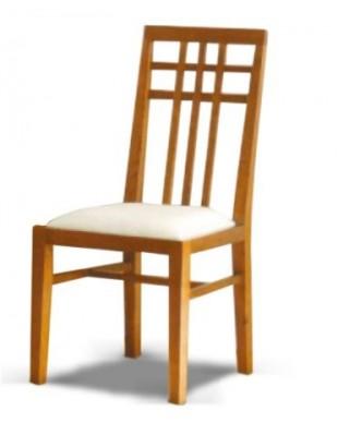 Chaise antiquaire tissu blanc nagano for Chaise quercus
