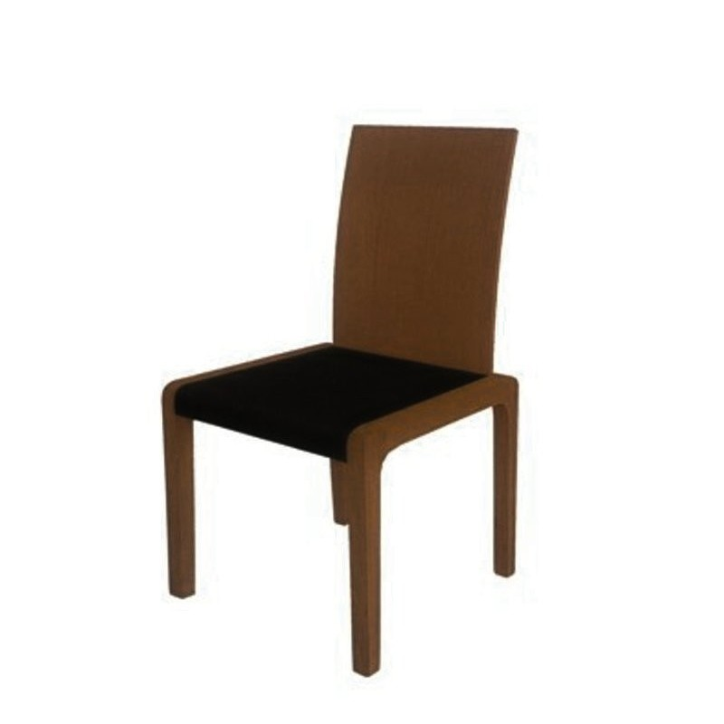 chaise design marron et noire agaric meuble de salle manger. Black Bedroom Furniture Sets. Home Design Ideas