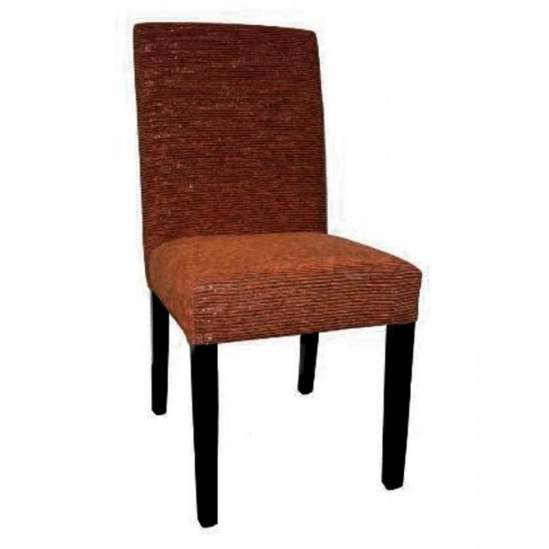 Chaise antiquaire marron betoine meuble de salle manger for Chaise quercus