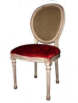 Chaise de luxe design luxury white chairs and wooden for Chaise de salle a manger rouge