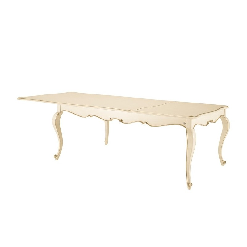 Table de s jour de luxe rectangulaire ou ronde avec ou for Table sejour