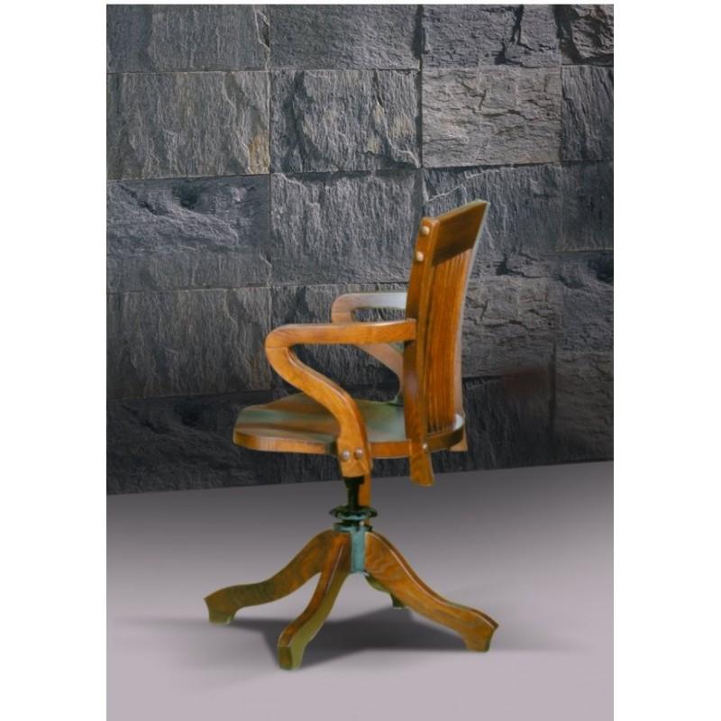 Chaise de bureau antiquaire apothicaire for Chaise quercus