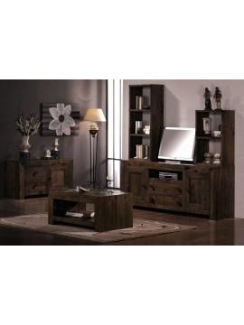 ensemble meuble tv petit buffet , rustico ariana ref  2245 - 2305