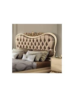 t te de lit ivoire luxe or et argent. Black Bedroom Furniture Sets. Home Design Ideas