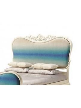 Tête de lit bleue Luxe