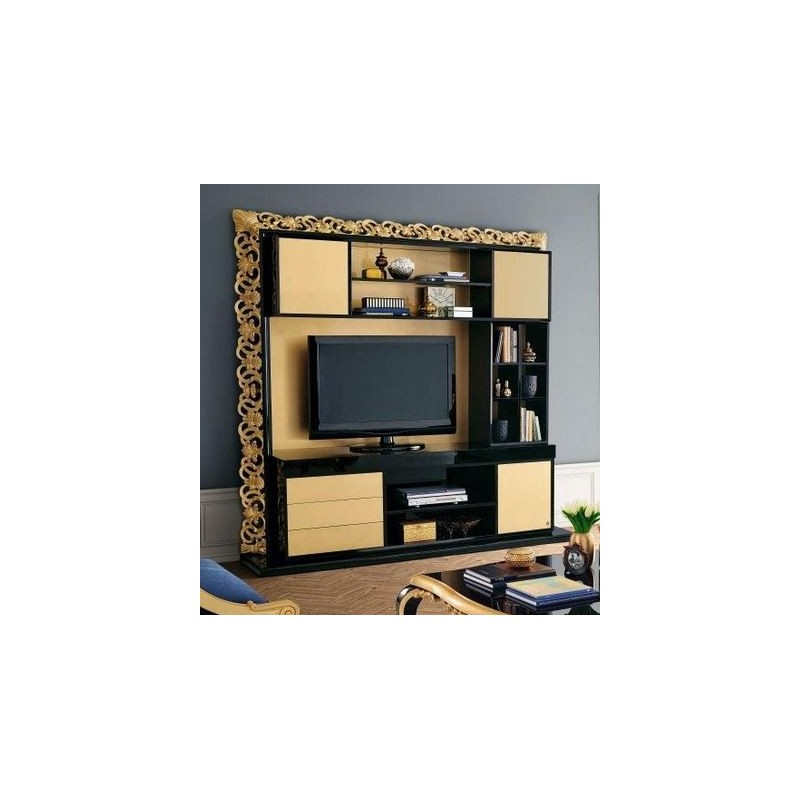 meuble tv de luxe venize. Black Bedroom Furniture Sets. Home Design Ideas