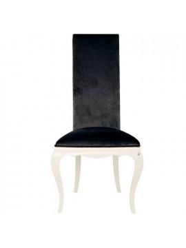 Chaise de luxe tissu rouge eiffel for Chaise blanche tissu