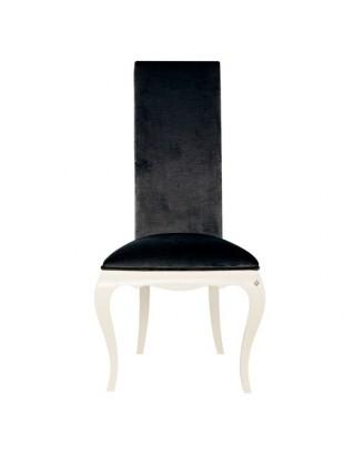 http://www.commodeetconsole.com/3631-thickbox_default/chaise-de-luxe-blanche-tissu-noir.jpg