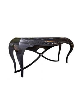 cheap console noire eiffel with console noire baroque. Black Bedroom Furniture Sets. Home Design Ideas