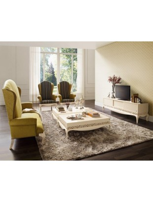 meuble tv et table basse de luxe et 2 fauteuils. Black Bedroom Furniture Sets. Home Design Ideas