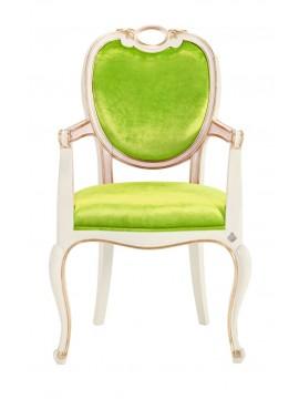 Chaise verte Glamour